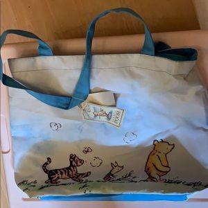 Vintage Winnie the Pooh diaper/tote bag Nwt